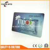 Preiswerte Kosten gedruckte PlastikVisitenkarte-und Geschenk-Förderung-Karte, schnelle Anlieferung