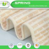 Fibra di bambù di materasso del rilievo dello strato del cotone impermeabile della protezione respirabile