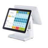 Kleinhandels Punt van POS Capacitieve Touchscreen van het Scherm van de Apparatuur Dubbele