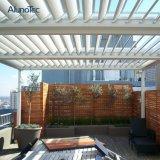 광동 Pergola 장비를 가진 방수 자동화된 수영풀 지붕