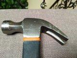 молоток с раздвоенным хвостом кованой стали ручных резцов 16oz с пластичной ручкой XL0020-2