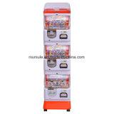 3つの層の硬貨およびトークンによって作動させるおもちゃのカプセルの自動販売機