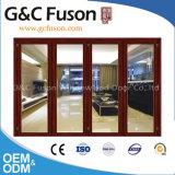 Роскошная алюминиевая дверь складчатости для Hall