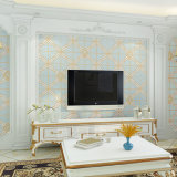 Papier de mur, Wallcovering, décor du mur 3D, tissu de mur de PVC, feuille de plancher de PVC, papier peint de PVC
