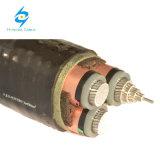 Standard basso e medio del cavo elettrico di memoria di tensione Cu/Al IEC60502