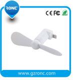 Мини-пластмассовых телефон электровентилятора системы охлаждения двигателя с помощью освещения порт для iPhone 6/6s/7/7plus/8/X