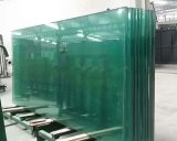 Feuilleté verre renforcé de chaleur pour la construction de murs rideaux