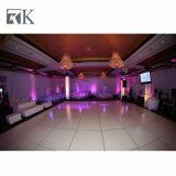 Rk 2018 Hot Vente de plancher de danse blanc rond pour mariage/Parti