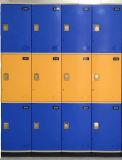 熱い販売の3つの層の貯蔵用ロッカーのキャビネット(JS38-3)