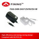12V2a24W UL/Ce/FCC를 가진 잘 고정된 전력 공급 접합기