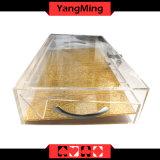 8 hileras de acrílico de Poker Casino poker Chip chip Póquer de flotación de la bandeja con el bloqueo(YM-CT10)