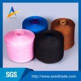 染料のYarndカラー100%年のポリエステルリングによって回されるヤーン縫うヤーン