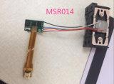 Msr009 MSR014 MSR010 Leitor de cartões 1 2 3 via leitor de cartões de tarja magnética cabeça de 1 mm