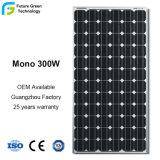 Mono de 300W de energía flexible de la Energía Solar PV panneau solaire
