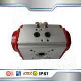 Azionatore rotativo pneumatico di alluminio a semplice effetto