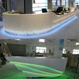 Bureau de réception blanc de bureau de conception de personne exagérée des meubles 2