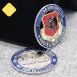 良質の工場価格のカスタムショッピングトロリーは銀貨の魅力を停止する