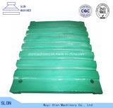 Дробилка челюсти Nordberg Metso C130 высокого качества разделяет фикчированную/Moving плиту челюсти