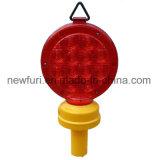 Indicatore luminoso d'avvertimento del PC delle coperture LED di traffico impermeabile ambrato del falò