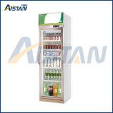 Refroidisseur commercial de bouteille d'étalage d'étalage de réfrigérateur de la porte Mlg-1100 deux