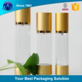 Contenitore cosmetico riutilizzabile della bottiglia senz'aria sterile della pompa