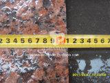 Grauer/Schwarz-/rote/gelbe Farben-Klimagranit, der Ston für Fahrstraße-Aufbau pflastert