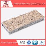 Мраморные огнеупорные Anti-Seismic камня ячеистых алюминиевых панелей для крышки рулевой колонки