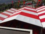 шатер свадебного банкета крыши 20X30m напольный ясный для случая
