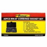 """de 40PCS 1/4 """" y 3/8 """" accesorios de las herramientas eléctricas Metalworking del Dr. Socket Set"""