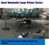 半自動コンベヤースクリーンの印字機