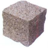 옥외 안뜰, 차도, 정원을%s 자연적인 자갈 돌 화강암 구획 포장 기계