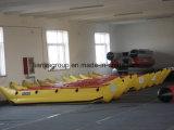Liya Korea Belüftung-aufblasbares Bananen-Boot für Verkauf