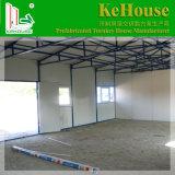 남아프리카에 있는 Prefabricated 집 또는 사무실을%s 강철 구조물 Prifab 가벼운 집 또는 주문을 받아서 만들어진 EPS 샌드위치 위원회 이동할 수 있는 집은 사용했다