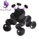 ボディ波状の人間のRemyの毛のよこ糸(HW75)