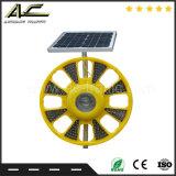 Ausgezeichnete Qualitätsc$einrahmen Form-Solarwarnleuchte mit Metallstandplatz