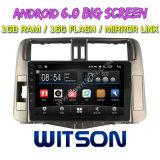 "Witson 9"" на большой экран Android 6.0 DVD для Toyota Прадо 2010"