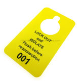Zoll Kurbelgehäuse-Belüftung stören nicht Plastikkarten-Hotel-Tür-Aufhängung