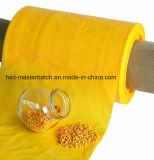 Masterbatch amarillo corresponde con estándar del FDA