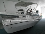 Liyaの堅い外皮のガラス繊維500隻の釣ざおのホールダーのボート