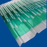 Hoja acanalada sólida de la fibra de vidrio corrosiva anti para los paneles del aislante