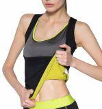Tapa del tanque de encargo del entrenamiento de las mujeres de señora Bodybuilding Slim Vest Neoprene
