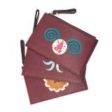 Lcq-071 Portefeuille van de Vrouwen van het Borduurwerk van de Portefeuilles van het Leer van de Beurs Pu van de Dames van de Handtassen van de Gift van de Leverancier van de Handtas van China de Reeks Aangepaste Leuke Dierlijke