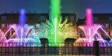Fuente a todo color del baile de la música del diseño de Seafountain de las luces