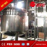 Turn-Key Whisky Brandy destilador de cobre rojo con 4 placas