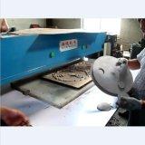 Гидровлический автомат для резки лицевого щитка гермошлема 4-Столба