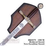 Spade medioevali HK857n 106cm della decorazione delle spade della nuova spada di Excalibur