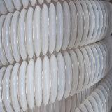 Plastikschlauch des Flansch-Anschluss-flexibler transparenter gewölbter TeflonPTFE