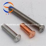 Стержень M3*10 продетый нитку алюминием (PT) ISO13918