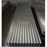 Aluzinc cubrió el metal que cubría el panel galvanizado coloreado natural de la azotea de /Galvalume