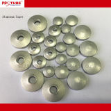 Qualitäts-leere kosmetische Gefäße im Aluminium